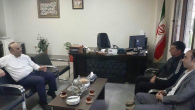 Photo of دیدار رئیس هیات ورزشهای همگانی استان با مدیر کل دفتر روستایی وعشایری استانداری