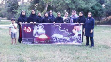 Photo of تمرین ورزشکاران پرثوا آزادشهر به مناسبت رحلت حضرت امام خمینی