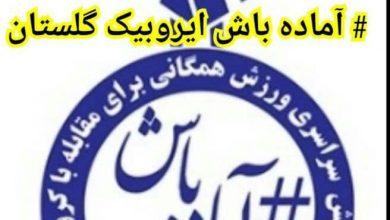 Photo of 🔴پویش سراسری آماده باش کمیته ایروبیک استان گلستان برای مقابله با کرونا